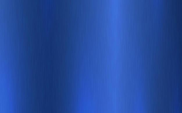 Gradiente radial metálico azul com arranhões. efeito de textura de superfície de folha azul.