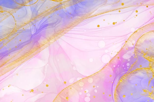 Gradiente rosa oleoso abstrato