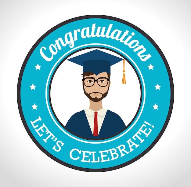 Graduação de estudantes universitários