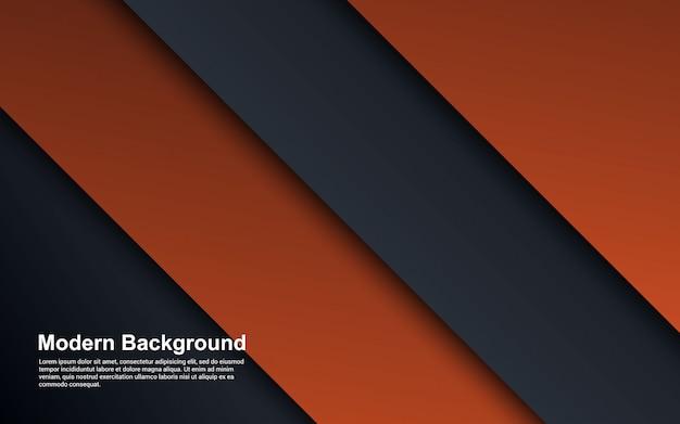 Gráfico da ilustração de gradientes de fundo abstrato cor moderna