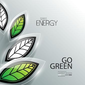 Gráfico de informação de negócios para ambiente