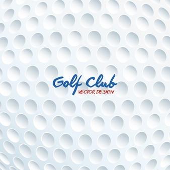 Gráfico de jogo de esporte de clube de golfe