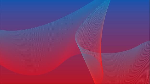 Gráfico de onda 3d colorido vibrante