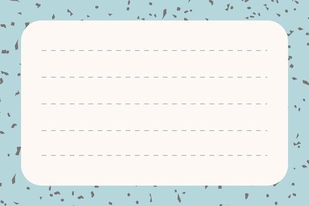 Gráfico de papel de carta de escritório