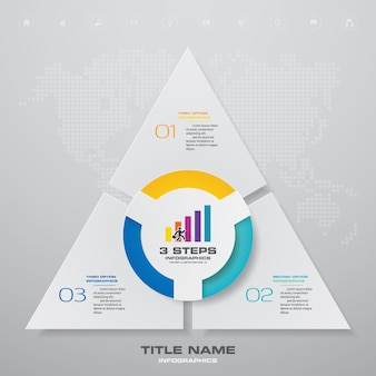 Gráfico de processo simples e editável.