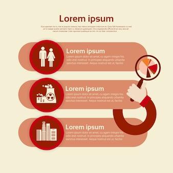 Gráfico definir ambiente diagrama infográfico