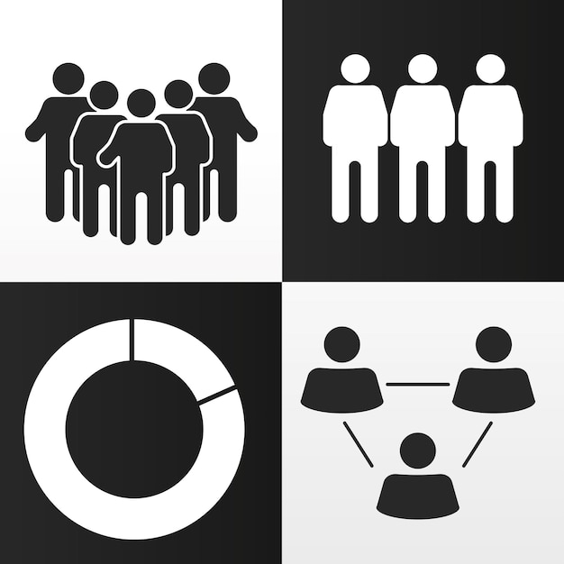 Gráfico populacional corporativo