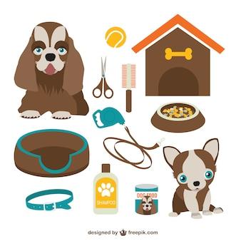 Gráficos vetoriais cão download gratuito