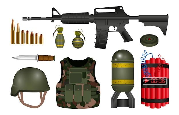 Granada de mão realista ou granada de fumaça de mão ou gás lacrimogêneo de motim de mão