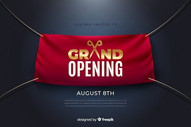 Grande abertura