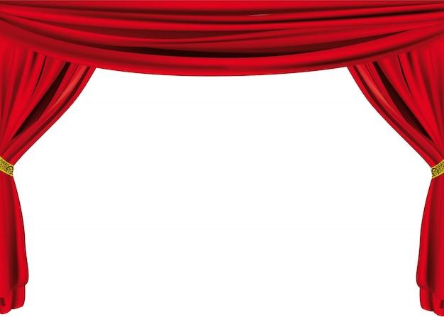 Grande cortina de teatro