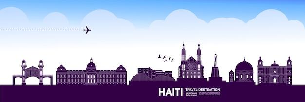 Grande destino de viagem ao haiti