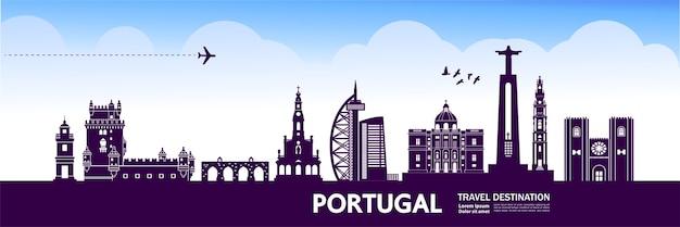 Grande destino de viagem em portugal