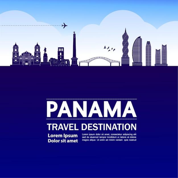 Grande destino de viagem no panamá
