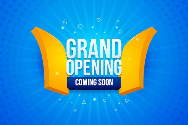 Grande inauguração em breve promo