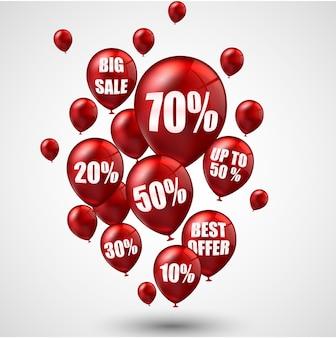Grande venda e melhor oferta de balões