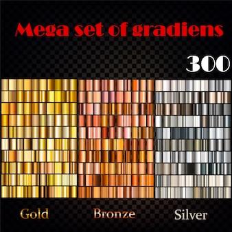 Grandes conjuntos de gradientes