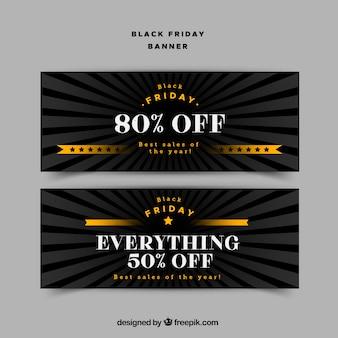 Grandes descontos em uma venda sexta-feira preta