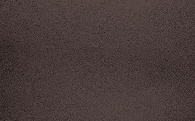 Grão de couro natural marrom escuro e cinza