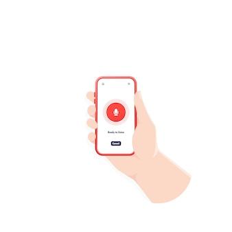 Gravador de som de smartphone