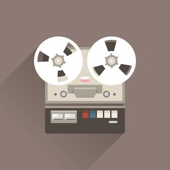 Gravador de voz vintage
