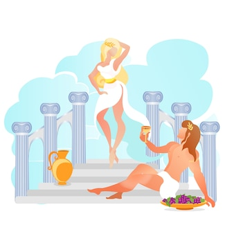 Grécia antiga deusa deusa deus dionísio.