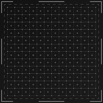Grid para interface hud futurista.