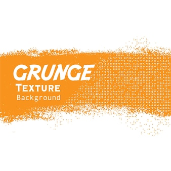 Grunge amarelo com banner de meio-tom