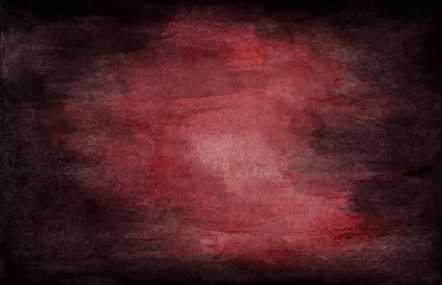 Grunge escuro com textura. fundo de textura aquarela abstrata de vinho tinto.