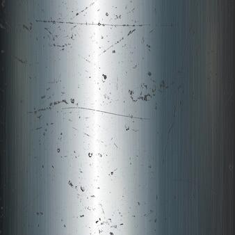 Grunge fundo de metal com superfície riscada