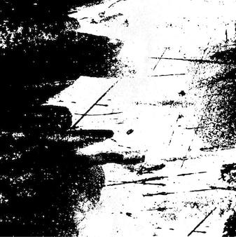 Grunge pintura fundo branco e preto