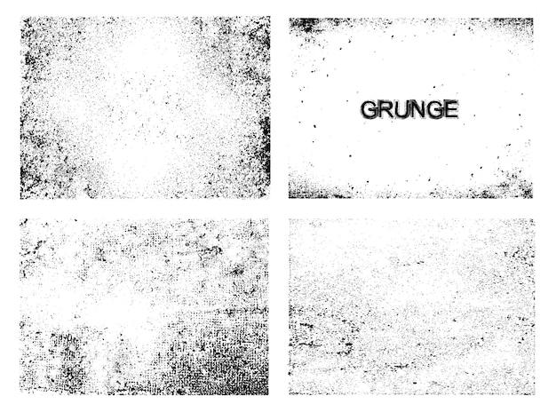 Grunge textura coleção
