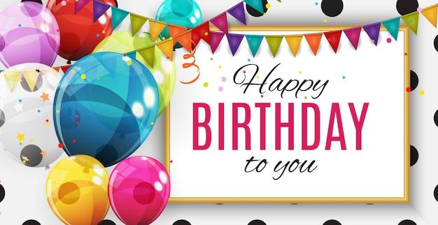 Grupo de balões de hélio brilhante de cor. conjunto de balões para aniversário, aniversário, festa decorações de comemoração.