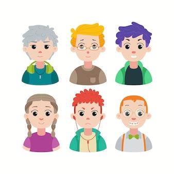 Grupo de diversidade de jovens