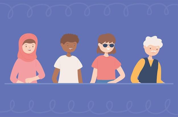 Grupo de diversidade social