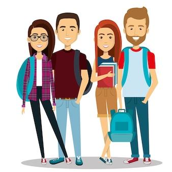 Grupo de jovens