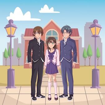 Grupo de mangá de anime