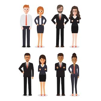 Grupo de pessoas que trabalham