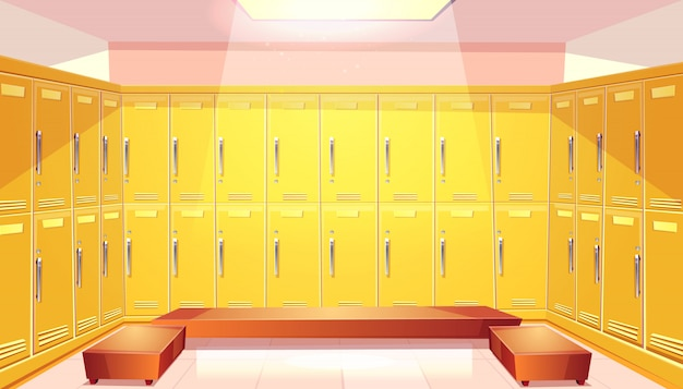 Guarda-roupa da escola