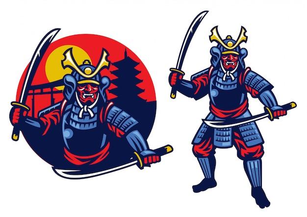 Guerreiro samurai ronin
