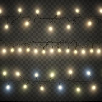 Guirlanda de luz sem costura