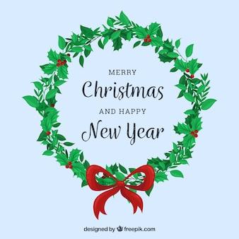 Guirlanda simples para decorações de natal e ano novo