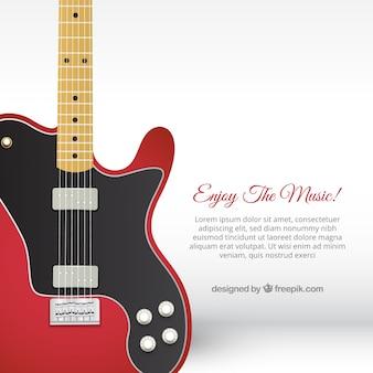 Guitarra elétrica fundo