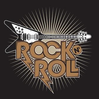 Guitarra rock n 'roll