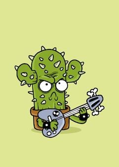 Guitarrista cactus