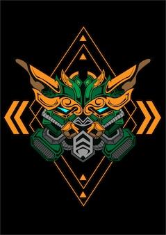 Gundam dragão linha arte trabalho conceito coleção