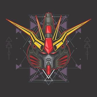 Gundam preto