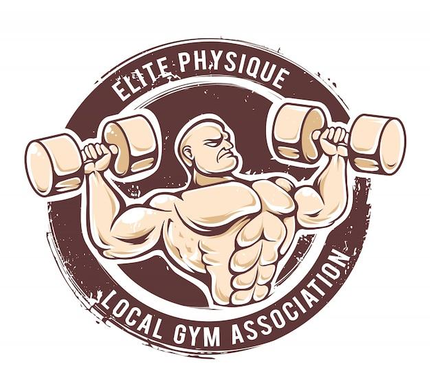 Gym vector do homem