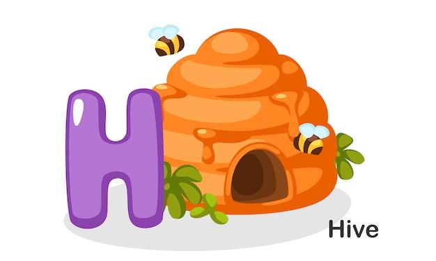 H para colméia
