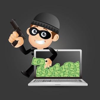 Hacker e ladrão